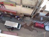 قارئ يشكو من موقف ميكروباص عشوائى بأحد شوارع سوهاج
