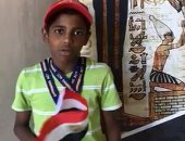 طفل يشارك والدته التصويت فى أستراليا: أنا رياضى وهحقق ميداليات لمصر..فيديو