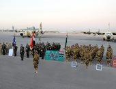 عناصر من القوات المسلحة تشارك فى تدريبات (درع الخليج المشترك 1) بالسعودية