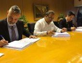 """""""تحديث الصناعة"""" يوقع عقدا مع تحالف دولى لإنشاء مدن نسيجية بمحافظات مصر"""