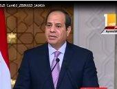السيسى: مصر أكدت على ضرورة تنفيذ نتائج القمة الثلاثية لسد النهضة