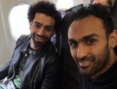 محمد صلاح بصحبة المحمدى للانضمام إلى معسكر منتخب مصر فى سويسرا