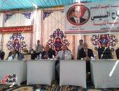 """صور.. مؤتمر جماهيرى لحملة """"كلنا معاك من أجل مصر"""" بالبحيرة لدعم السيسى"""