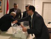 صور.. سفارة مصر بكندا تنتهى من فرز أصوات الناخبين