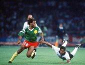 حكايات كأس العالم.. إنجلترا تقتل حلم الكاميرون فى الدقائق الأخيرة بمونديال 1990