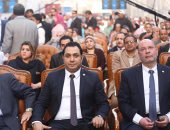 بدء المؤتمر الجماهيرى لنواب الطالبية بالجيزة لدعم السيسى بانتخابات الرئاسة  (صور)