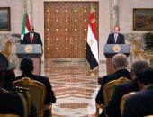 الرئاسة: السيسى أكد حرص مصر البالغ على دعم الدولة السودانية ومؤسساتها (صور)