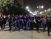 """فيديو.. طلاب جامعة أسيوط يطلقون """"انزل شارك من أجل مصر"""" للمشاركة بالانتخابات الرئاسية"""