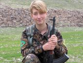 ننشر صورة مقاتلة بريطانية بصفوف الأكراد فى عفرين بعد مقتلها برصاص جيش أردوغان