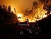 صور.. استراليا تحذر المواطنين من حرائق الغابات المستعرة بالبلاد