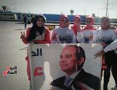 """صور.. حملة """"كلنا معاك من أجل مصر"""" بالبحيرة تدشن مبادرة """"شباب في شباب"""""""