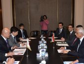 نائب وزير الخارجية يستقبل نائب الوزير البرلمانى للشئون الخارجية اليابانى