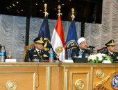 وزير الأوقاف لطلبة الكلية الحربية والشرطة: الجماعات الإرهابية لا دين لها