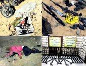 بيان 16 للقوات المسلحة: القضاء على 36 تكفيريا فى العملية سيناء 2018