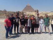 أعضاء الاتحاد الدولى للإعاقات الذهنية فى القاهرة لحضور اجتماع مجلس الإدارة