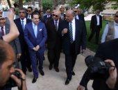 صور.. وزير قطاع الأعمال ومحافظ القاهرة يشيدان بتطوير حديقة الميريلاند بمصر الجديدة
