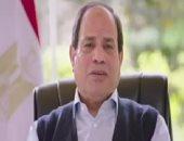 """فيديو.. الرئيس السيسي: اقتصادنا فى الخمسينيات كان """"كويس"""" حتى دخلنا حرب اليمن"""