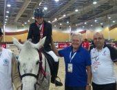 حسين فهمى يدعم البعثة المصرية للأولمبياد الخاص