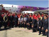 بعثة المنتخب تطير إلى سويسرا لخوض وديتين أمام البرتغال واليونان