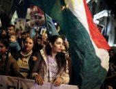 صور.. احتجاجات فى اليونان ضد الهجوم التركى على مدينة عفرين السورية