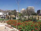 صور .. تطوير حديقة الميريلاند قبل افتتاحها رسميا اليوم