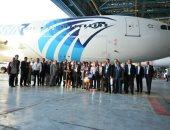 مصر للطيران تبدأ تسيير 3 رحلات أسبوعية لمطار أربيل فى كردستان الشهر المقبل