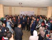 صور .. 300 طالب بالمعهد العالى للصحة يزورون مشروع بشاير الخير 1