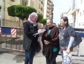 """صور..""""قومى المرأة"""" ببورسعيد يحث السيدات على المشاركة بانتخابات الرئاسة"""
