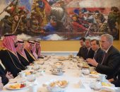 صور.. محمد بن سلمان يلتقى رؤساء مجلسى الشيوخ والنواب الأمريكى