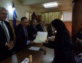 مديرية التعليم بدمياط تكرم 15 من العاملات بمناسبة عيد الأم