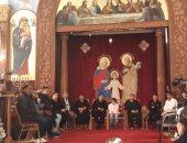 صور.. تكريم ذوى الشهداء فى مؤتمر الأسرة بكنيسة الإسكندرية