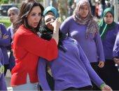 """مناهضة التحرش بجامعة القاهرة تعلم الطالبات آليات الدفاع عن النفس """"صور"""""""