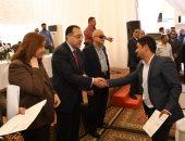 """وزير الإسكان يتفقد مشروعى """"سكن مصر"""" و """"دار مصر"""" للإسكان المتوسط"""