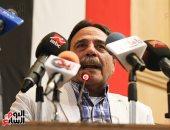 عمال مصر يهتفون: بنحبك يا سيسي.. ورئيس الاتحاد: سنحشد قوانا فى الانتخابات (صور)