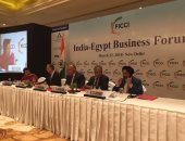 شكرى يطرح الفرص الاستثمارية بمصر أمام منتدى الأعمال الهندى-المصرى