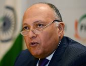 سامح شكرى: مصر موقفها ثابت من دعم التسوية السياسية للأزمة السورية