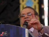 حسن راتب: المشاركة فى انتخابات الرئاسة رسالة للعالم بأن الشعب يقف خلف قائده - صور