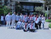 كلية إعلام القاهرة تشارك فى فعاليات حملة مناهضة التحرش