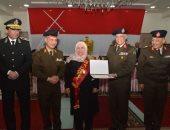 القوات المسلحة تحتفل بتكريم الأم المثالية والأب المثالى وتكرم أسر الشهداء