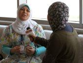 أمل صالح أقدم ممرضة فى 57357.. وهبت نفسها لمحاربة السرطان