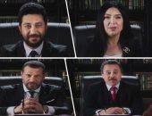 علشان كده صوتى للسيسي.. 16 فنانا وسياسيا يروجون لانتخابات الرئاسة (فيديو)
