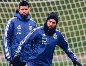 فيديو.. هدف ميسي الرائع فى تدريبات الأرجنتين قبل مواجهة إيطاليا