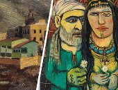 صور.. لوحة عبد الهادى الجزار تتفوق على محمود سعيد فى مزاد كريستيز بدبى