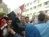 طلاب الدقهلية ينظمون مسيرات للحث على المشاركة فى الانتخابات الرئاسية