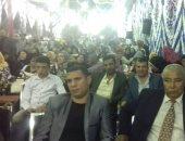 """صور.. مؤتمر جماهيرى حاشد لتأييد الرئيس """"السيسى"""" بشبرا الخيمة"""