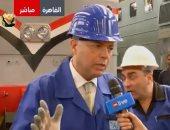 """وزير النقل: السكة الحديد تعانى """"وهتشوفوا شكل مختلف للقطارات فى 2019"""".. فيديو"""