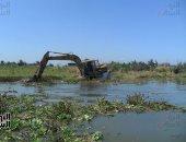 حماية الشواطىء:استئناف الرفع المساحى بجنوب مثلث الديبة لتطهير بحيرة المنزلة