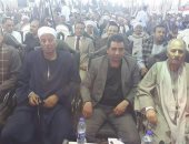 """صور.. """"من أجل مصر"""" تعقد مؤتمرا بسوهاج لتأييد السيسى فى انتخابات الرئاسة"""
