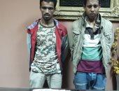 القبض على عاطلين لسرقتهما طالب بالإكراه فى الظاهر