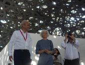جولة لخبراء الهندسة فى العالم لاستكشاف تقنيات متحف اللوفر أبوظبى.. صور
